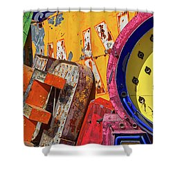 Shower Curtain featuring the photograph Hot Mess by Skip Hunt