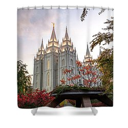 House Of The Lord Shower Curtain