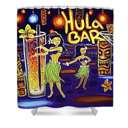 Hula Bar Shower Curtain