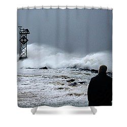 Shower Curtain featuring the photograph Hurricane Watch by Bill Swartwout Fine Art Photography