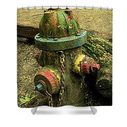 Hydrant Shower Curtain