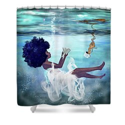I Aint Drowning Shower Curtain