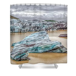 Iceberg Of Iceland Shower Curtain