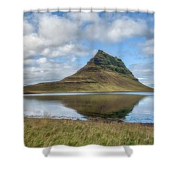 Iceland Mountain Shower Curtain