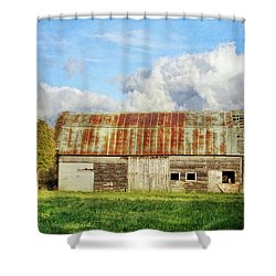 If These Forgotten Walls Could Talk Shower Curtain