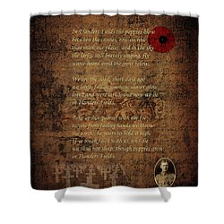 In Flanders Fields 2 Shower Curtain
