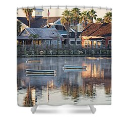 In The Stillness Of The Morn Fine Art Photography By Mary Lou Chmura Shower Curtain