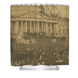 Inauguration Of Abraham Lincoln, March 4, 1861 Shower Curtain