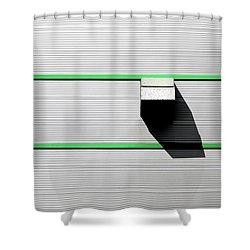 Industrial Minimalism 47 Shower Curtain