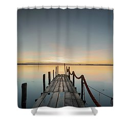 Shower Curtain featuring the photograph Infinity by Bruno Rosa