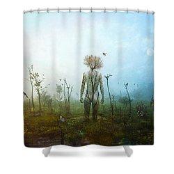 Internal Landscapes Shower Curtain