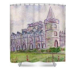 Inverary Castle Shower Curtain