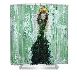 Irish Angel  Shower Curtain