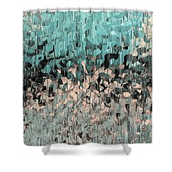 Isaiah 48 17. Walking In The Spirit Shower Curtain