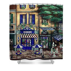Italian Cafe Shower Curtain