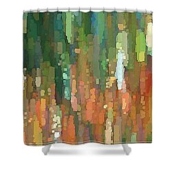It's Full Of Squares Shower Curtain