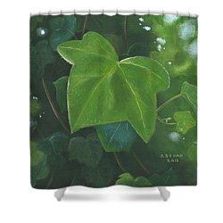 Ivy Waltz Shower Curtain
