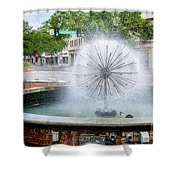 James Brown Blvd Fountain - Augusta Ga Shower Curtain