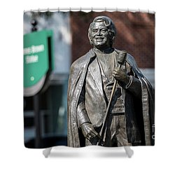 James Brown Statue - Augusta Ga Shower Curtain