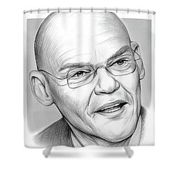 James Carville Shower Curtain