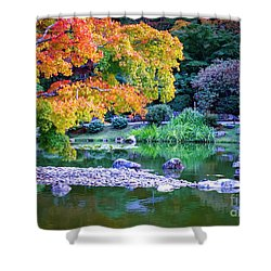 Japanese Garden Shower Curtain