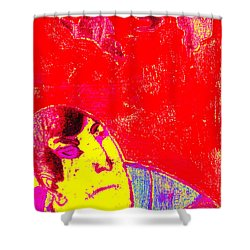Japanese Pop Art Print 6 Shower Curtain