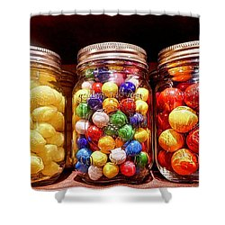 Shower Curtain featuring the photograph Jaw Breakers by Joan Reese