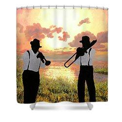 Jazz Al Tramonto Shower Curtain