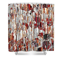 Shower Curtain featuring the painting Jesus Christ, A Man Of Sorrows. Isaiah 53 3 by Mark Lawrence