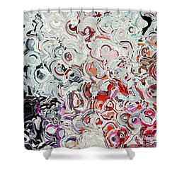Shower Curtain featuring the painting Jesus Christ, The Door. John 10 7 by Mark Lawrence