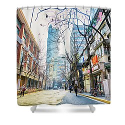 Jing An Shower Curtain