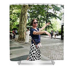 Jing An Park Shower Curtain