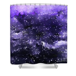 John 1 5. Overcome Shower Curtain