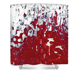 Shower Curtain featuring the painting John 14 2. Preparing A Place For You by Mark Lawrence