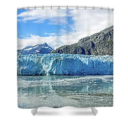 John Hopkins Glacier 1 Shower Curtain
