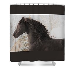 Joy In The Season Shower Curtain