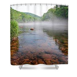 June Morning Mist Shower Curtain