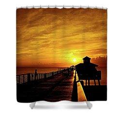 Juno Pier 4 Shower Curtain
