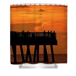 Juno Pier 5 Shower Curtain