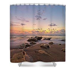 Jupiter Beach 2 Shower Curtain