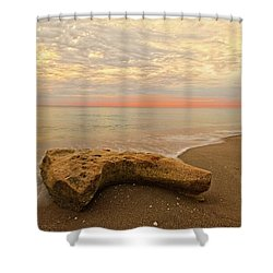 Jupiter Beach Shower Curtain