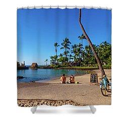 Kamakahonu Beach Shower Curtain