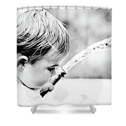 Keeping Cool Shower Curtain