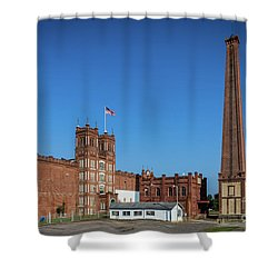 King Mill - Augusta Ga 2 Shower Curtain