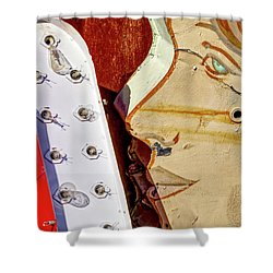 Shower Curtain featuring the photograph Kiss by Skip Hunt