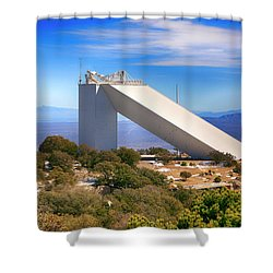 Kitt Peak Observatory Shower Curtain