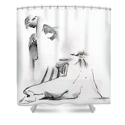 Kroki 2018 09 29 -15 Shower Curtain