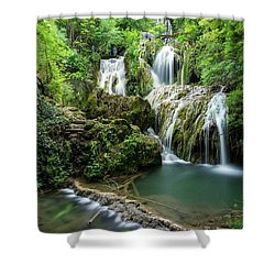 Krushunski Waterfalls Shower Curtain