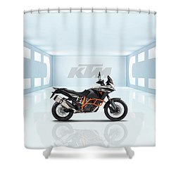 Ktm 1190 Adventure R Shower Curtain