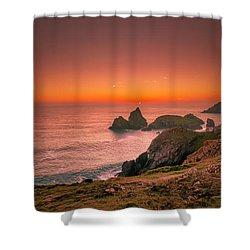 Kynance Cove Shower Curtain